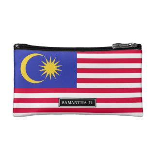 Flag of Malaysia Makeup Bag