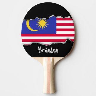 Flag of Malaysia Ping Pong Paddle