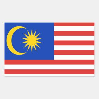 Flag of Malaysia Rectangular Sticker