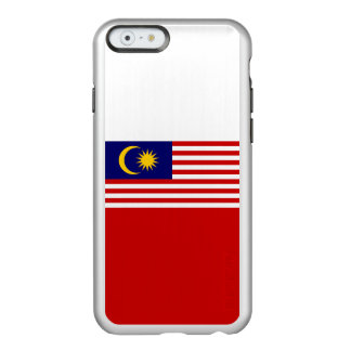 Flag of Malaysia Silver iPhone Case