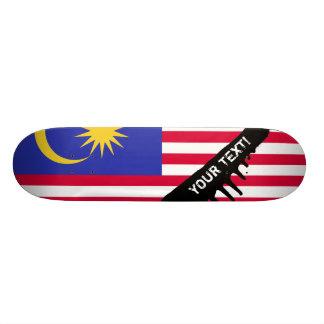 Flag of Malaysia Skateboard