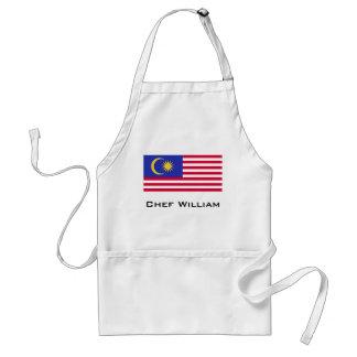 Flag of Malaysia Standard Apron