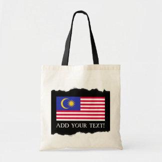 Flag of Malaysia Tote Bag