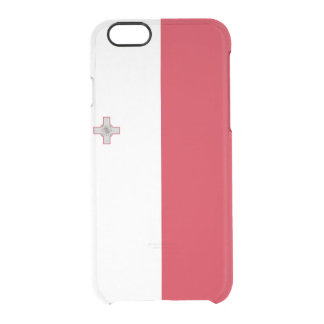 Flag of Malta Clear iPhone Case