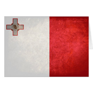 Flag of Malta Note Card