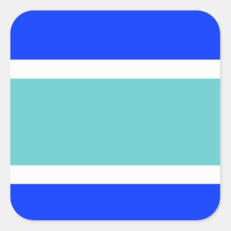 Flag of Marbella Square Sticker