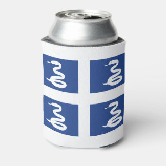 Flag of Martinique Can Cooler