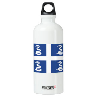 Flag of Martinique Water Bottle