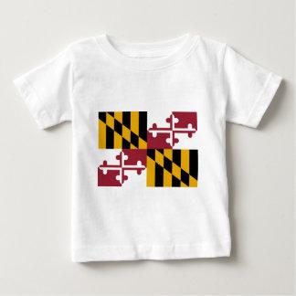 Flag Of Maryland Baby T-Shirt