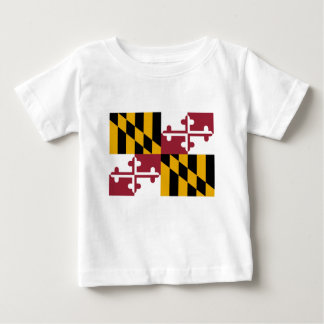 Flag Of Maryland Baby T-Shirt