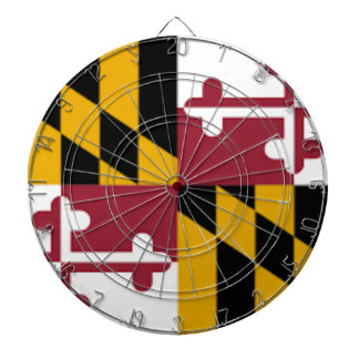 Flag Of Maryland Dartboard