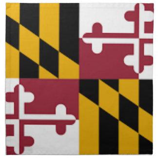 Flag Of Maryland Napkin