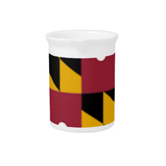 Flag Of Maryland Pitcher