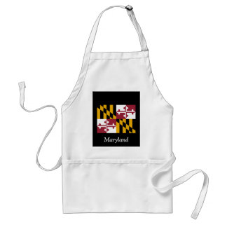 Flag of Maryland Standard Apron