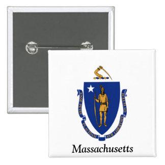Flag of Massachusetts Pins