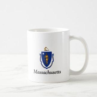 Flag of Massachusetts Basic White Mug
