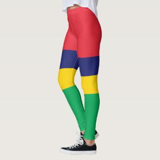 Flag of Mauritius Leggings