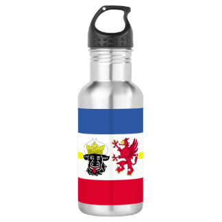 Flag of Mecklenburg-Western Pomerania 532 Ml Water Bottle