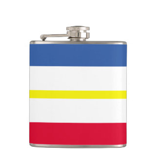 Flag of Mecklenburg-Western Pomerania Hip Flask