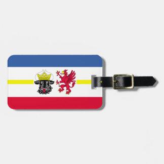 Flag of Mecklenburg-Western Pomerania Luggage Tag