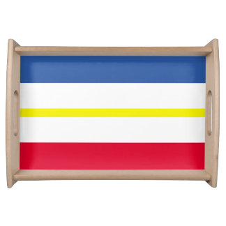 Flag of Mecklenburg-Western Pomerania Serving Tray