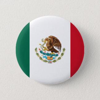 Flag of Mexico 6 Cm Round Badge