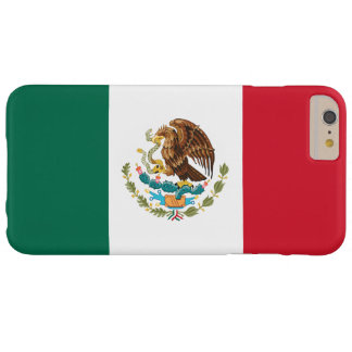 Flag of Mexico Barely There iPhone 6 Plus Case