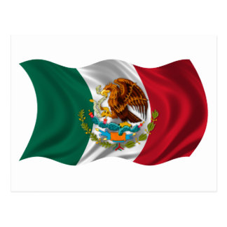 Flag of Mexico, Coat of Arms Postcards