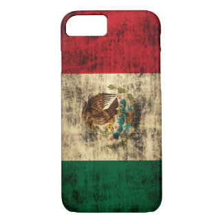 Flag of Mexico Distressed iPhone 7 case
