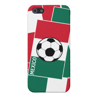Flag of Mexico Football Case For iPhone 5/5S