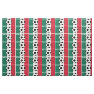 Flag of Mexico Football Fabric