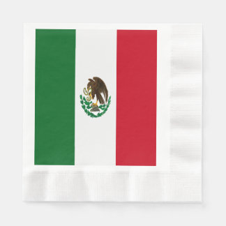 Flag of Mexico Paper Serviettes