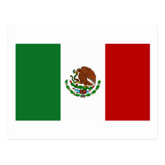 Flag of Mexico Postcard