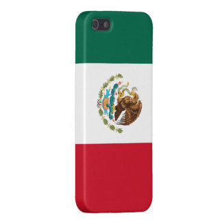 Flag of Mexico Savvy iPhone 5 Glossy Finish iPhone 5 Covers