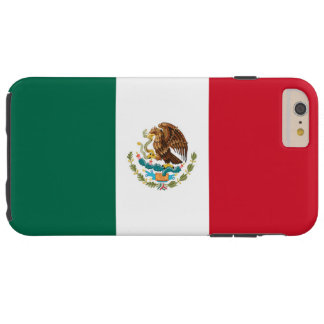 Flag of Mexico Tough iPhone 6 Plus Case