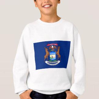 Flag Of Michigan Sweatshirt
