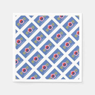 Flag of Mindan Paper Napkin
