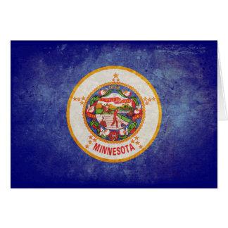 Flag of Minnesota Note Card