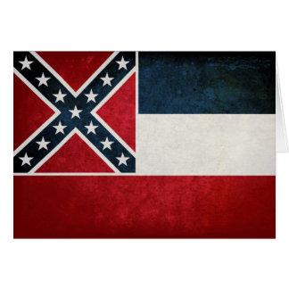 Flag of Mississippi Greeting Card