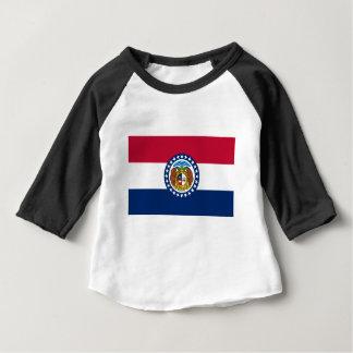 Flag Of Missouri Baby T-Shirt
