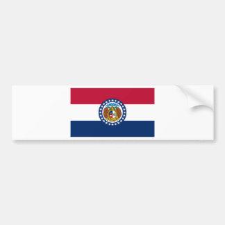 Flag Of Missouri Bumper Sticker