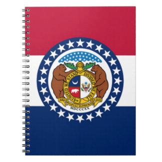 Flag Of Missouri Notebook