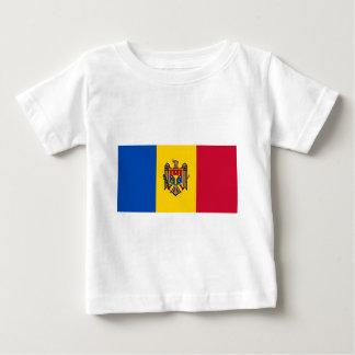 Flag_of_Moldova Baby T-Shirt