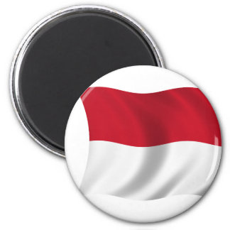 Flag of Monaco Magnet