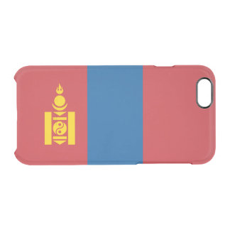 Flag of Mongolia Clear iPhone Case