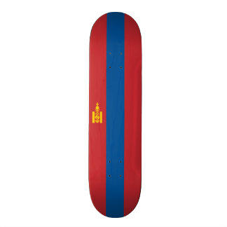 Flag of Mongolia Skateboard Deck