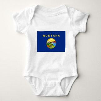 Flag Of Montana Baby Bodysuit