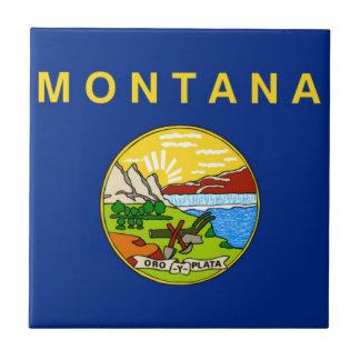 Flag Of Montana Ceramic Tile