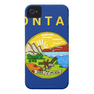 Flag Of Montana iPhone 4 Cover