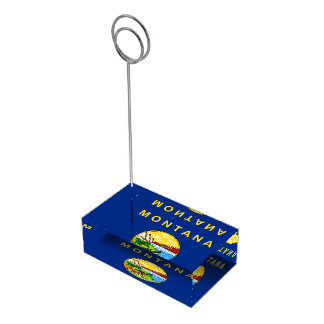 Flag of Montana Place Card Holder
